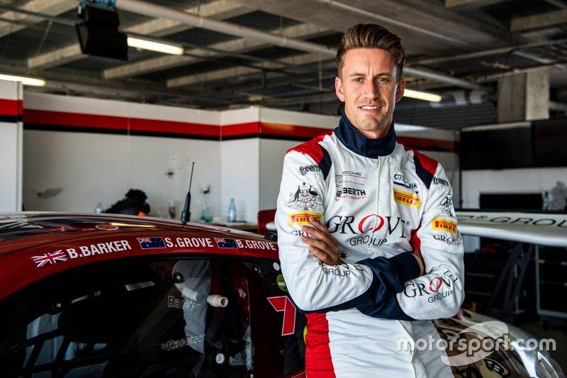 #4 Grove Racing Porsche GT3 R: Benjamin Barker