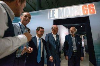 Dr. Wolfgang Ullrich, Pierre Fillon, Presidente ACO, Peter Miles, Henri Pescarolo