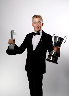 Johnathan Hoggard wins the BRDC Young Driver award