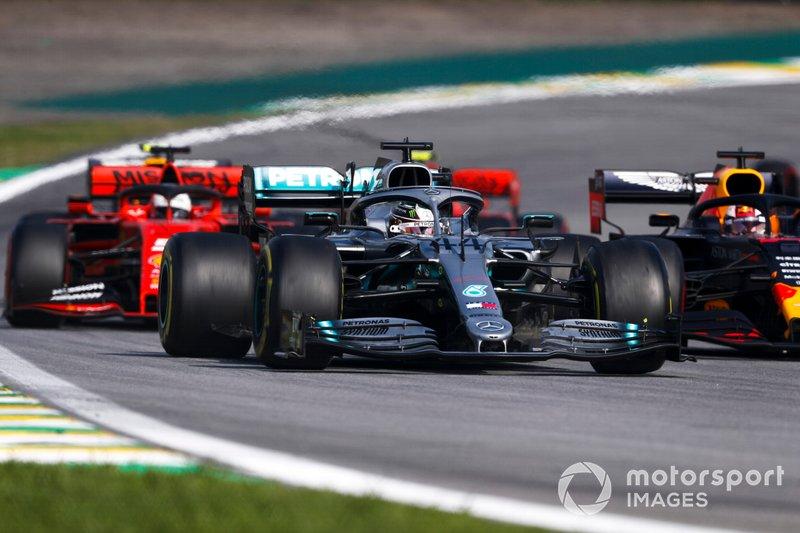 F1: Ferrari e Red Bull mais próximas da Mercedes