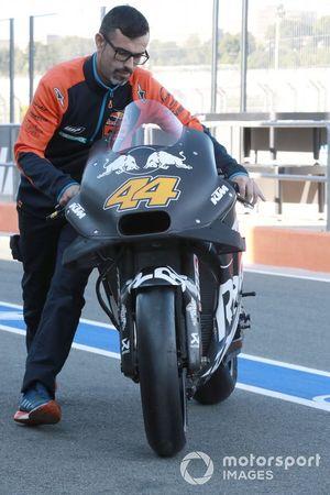 Bike von Pol Espargaro, Red Bull KTM Factory Racing