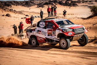 Бернхард тен Бринке и Том Колсул, Toyota Gazoo Racing, Toyota Hilux (№307)