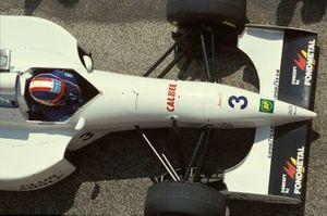 Ukyo Katayama, Tyrrell 022 Yamaha, al GP di San Marino del 1994