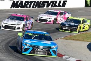 Martin Truex Jr., Joe Gibbs Racing, Toyota Camry Auto Owners Insurance, J.J. Yeley, Rick Ware Racing, Chevrolet Camaro GOTTA KILL IT TO HEAL IT, Ryan Blaney, Team Penske, Ford Mustang Menards/Richmond, B.J. McLeod, Petty Ware Racing, Ford Mustang JACOB COMPANIES