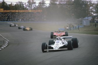 Alan Jones, Williams FW07B Ford, Gilles Villeneuve, Ferrari 312T5