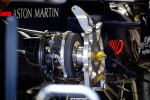 Red Bull Racing RB15 front brake detail
