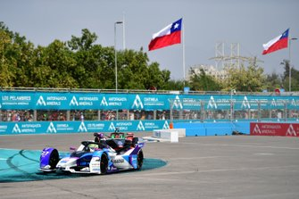 Александр Симс, BMW i Andretti Motorsport, BMW iFE.20, и Даниэль Абт, Audi Sport ABT Schaeffler, Audi e-tron FE06