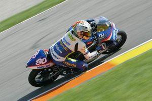 Hector Barbera al GP di Valencia del 2003