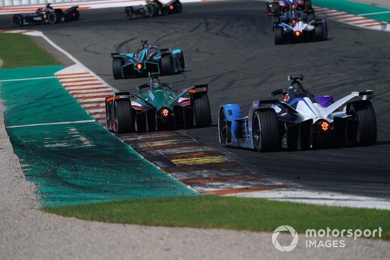 Lucas Di Grassi, Audi Sport ABT Schaeffler, Audi e-tron FE06, Maximilian Gunther, BMW I Andretti Motorsports, BMW iFE.20