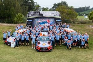 Team championship celebration of Hyundai Motorsport
