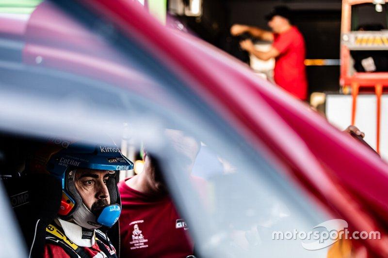 #205 Toyota Gazoo Racing Toyota Hilux: Fernando Alonso