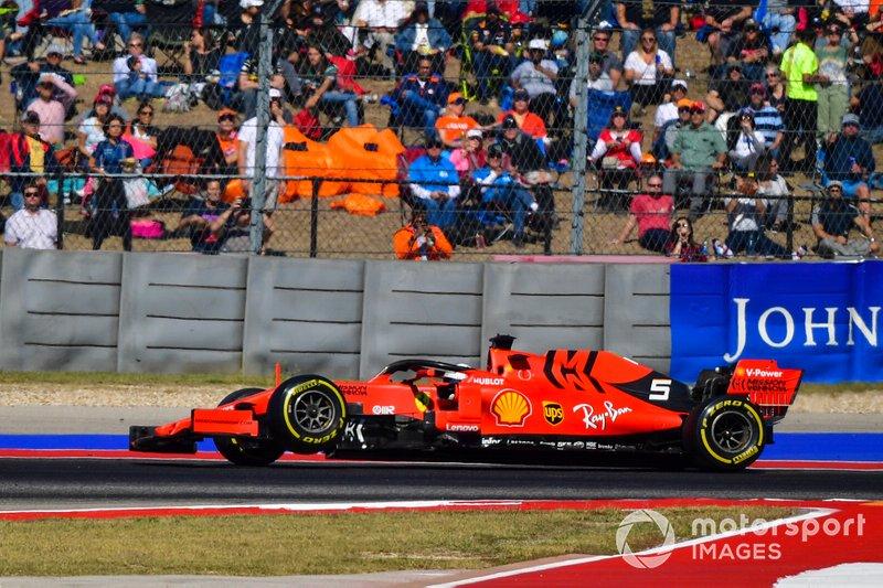 20º: Sebastian Vettel, Ferrari SF90 (abandonou por quebra na suspensão)