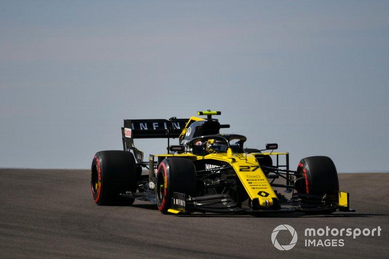 9º: Nico Hulkenberg, Renault F1 Team R.S. 19
