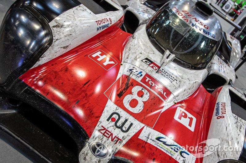 2019 Le Mans 24 Hours winning Toyota of Sébastien Buemi, Kazuki Nakajima and Fernando Alonso