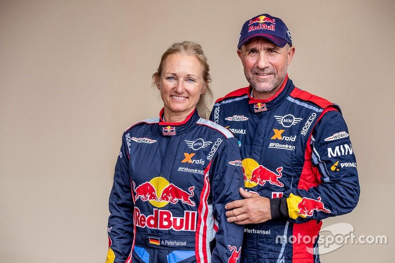 Rally Raid World Cup, pilotos (Categoría Pro): Stephane Peterhansel, Andreea Mayer