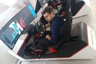Simulatore Porsche e-Carrera Cup Italia