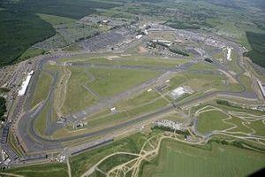 Vista aerea del circuito di Silverstone