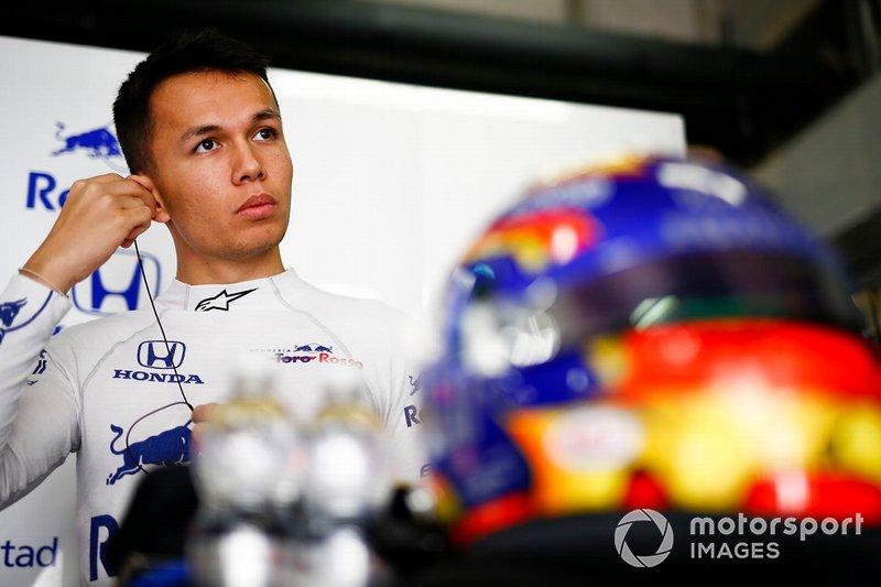 Alexander Albon, Toro Rosso