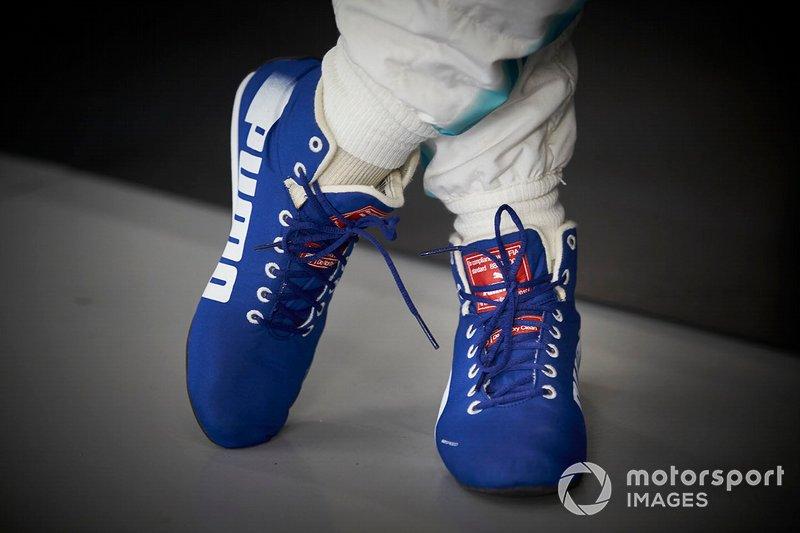 Le scarpe di Valtteri Bottas, Mercedes AMG F1