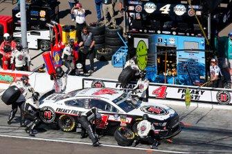 Kevin Harvick, Stewart-Haas Racing, Ford Mustang Jimmy John's pit stop