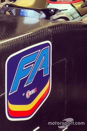Логотип FA Racing by Drivex