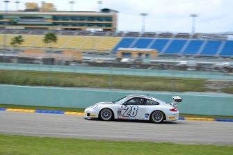#28 MP1B Porsche GT3 Cup driven by Juan Ramirez of MGM Racing