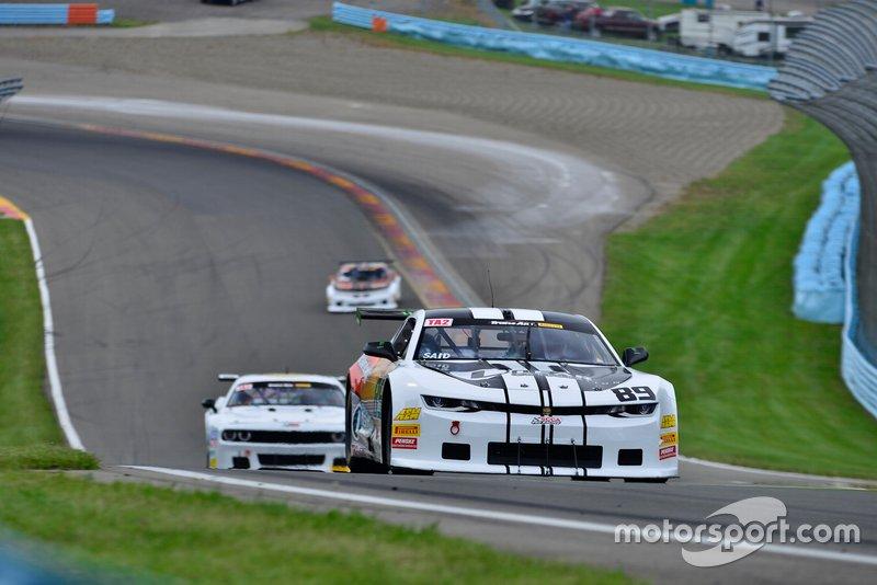 #89 TA2 Chevrolet Camaro driven by Boris Said of HP Tech Motorsports