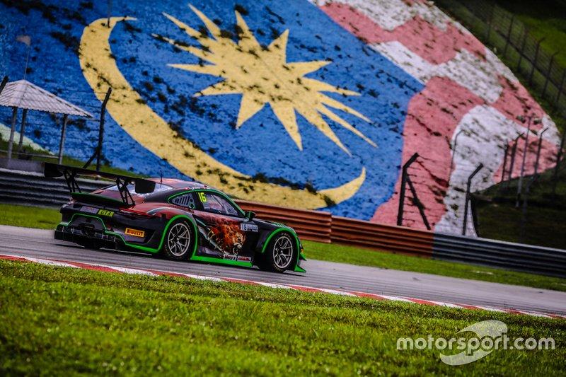 #16 Modena Motorsports, Porsche 911 GT3 R, John Shen, Mathias Beche