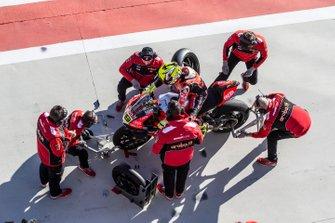 Alvaro Bautista, Aruba.it Racing-Ducati Team wiel wissel
