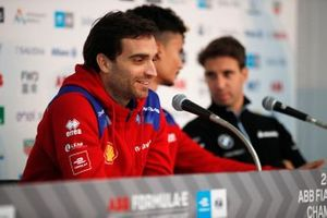 Jérome d'Ambrosio, Mahindra Racing in the press conference