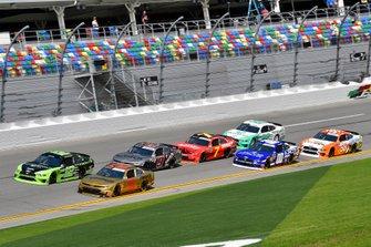 Brad Keselowski, Team Penske, Ford Mustang Fitzgerald and Tyler Reddick, Richard Childress Racing, Chevrolet Camaro Pinnacle Financial Partners