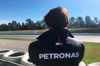 Esteban Gutiérrez, tester Mercedes