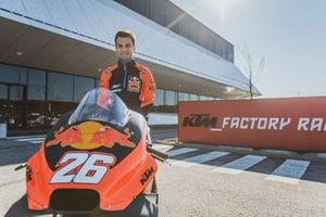 Dani Pedrosa, Red Bull KTM Factory Racing Test Rider