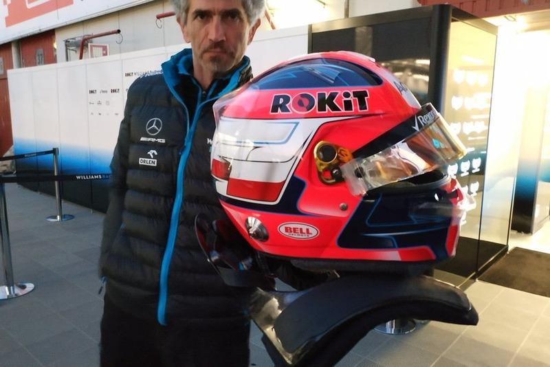 Новый шлем Роберта Кубицы