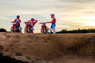 Team HRC Honda riders