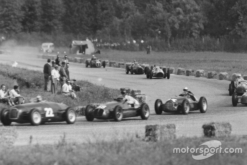 20. Peter Whitehead, Ferrari: del 19º al 3º en el GP de Francia de 1950