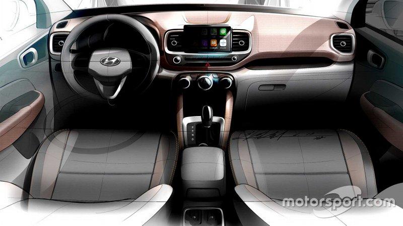 Тізер Hyundai Venue 2020