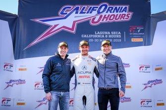 Polesitter #30 Honda Team Motul Honda NSX GT3 Evo: Bertrand Baguette, Mario Farnbacher, Renger van der Zande