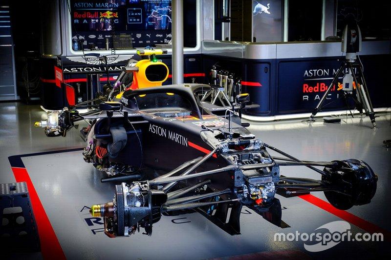 Red Bull RB15: Aufhängung vorne