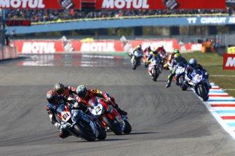 Jordi Torres, Team Pedercini, Leon Camier, Honda WSBK Team, Chaz Davies, Aruba.it Racing-Ducati Team