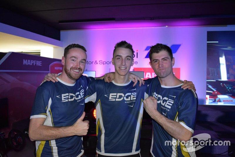 EDGE eSports, ganadores de la primera edición de las ESL Racing Series Mapfre