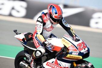 Sam Lowes, Gresini Racing, brakedown