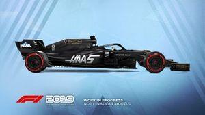 F1 2019 HAAS F1 Team livery