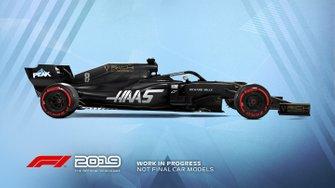 Livrée Haas dans F1 2019