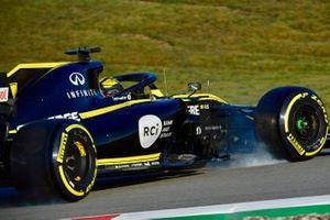 Nico Hulkenberg, Renault Sport F1 Team R.S. 19 spins