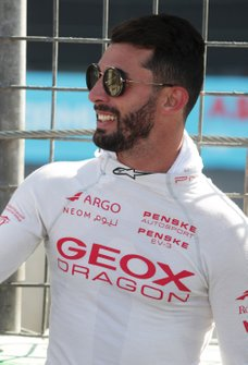 Jose Maria Lopez, GEOX Dragon Racing on the grid