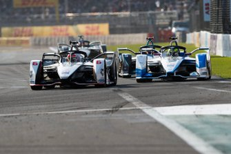 Felipe Nasr, Dragon Racing, Penske EV-3 Alexander Sims, BMW I Andretti Motorsports, BMW iFE.18 devant Stoffel Vandoorne, HWA Racelab, VFE-05
