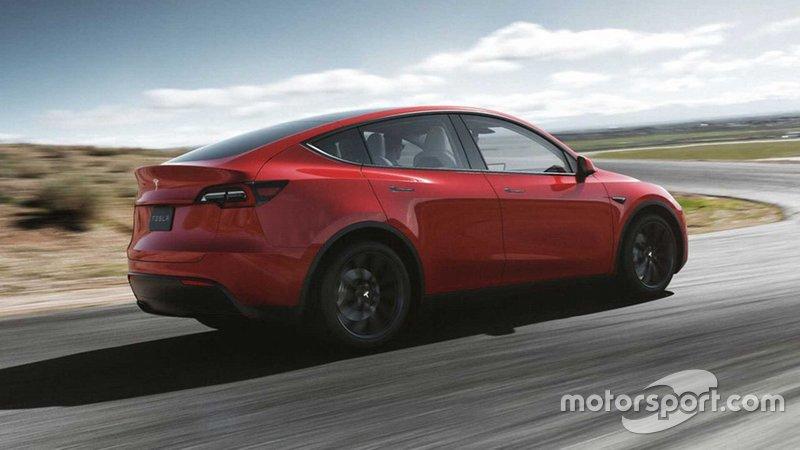 Tesla Model Y 2021 року