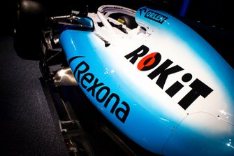Williams FW42 Rokit logo detail