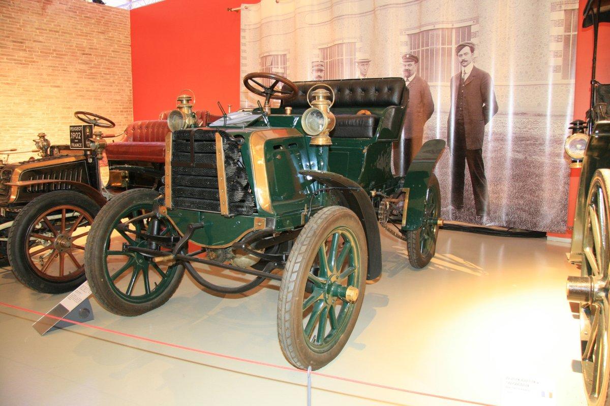 1900年:パナール・ルヴァッソール タイプA2 フェートン(Panhard et Levassor Type A2 Phaeton)